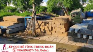 Nhận ép cọc bê tông tại khu vực Biên Hòa, Đồng Nai