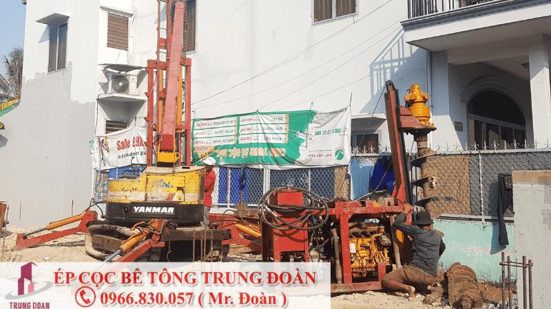 ép cọc bê tông tại huyện ba tri bến tre