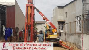 Ép cọc bê tông tại thành phố Vũng Tàu