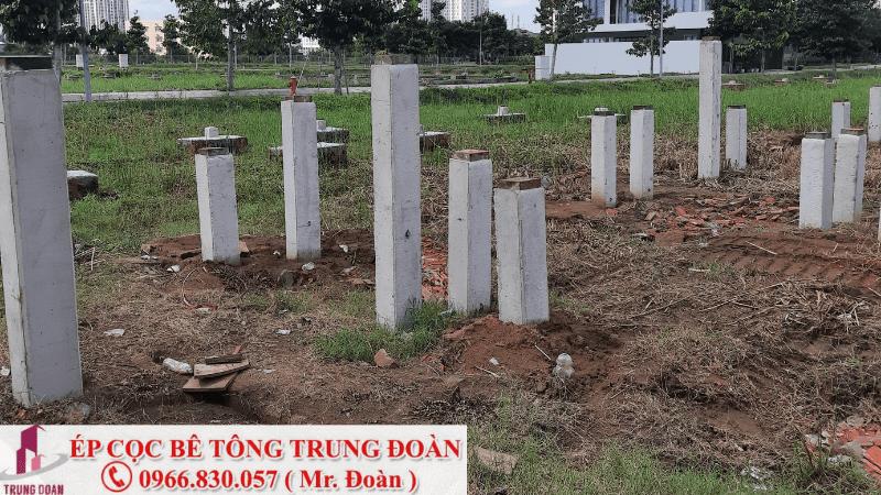 ép cọc bê tông Phan Thiết
