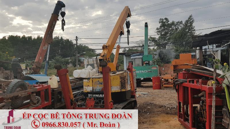 giá ép cọc bê tông nhà dân 2019
