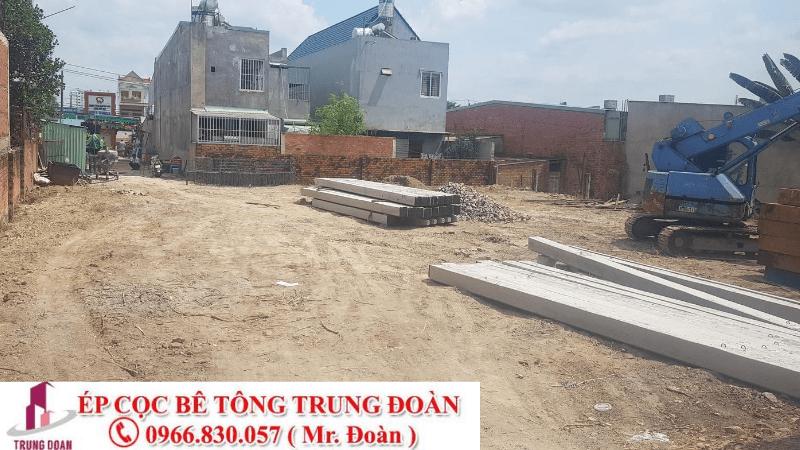 ép cọc bê tông huyện Chợ Lách, Mỏ Cày tỉnh Bến Tre