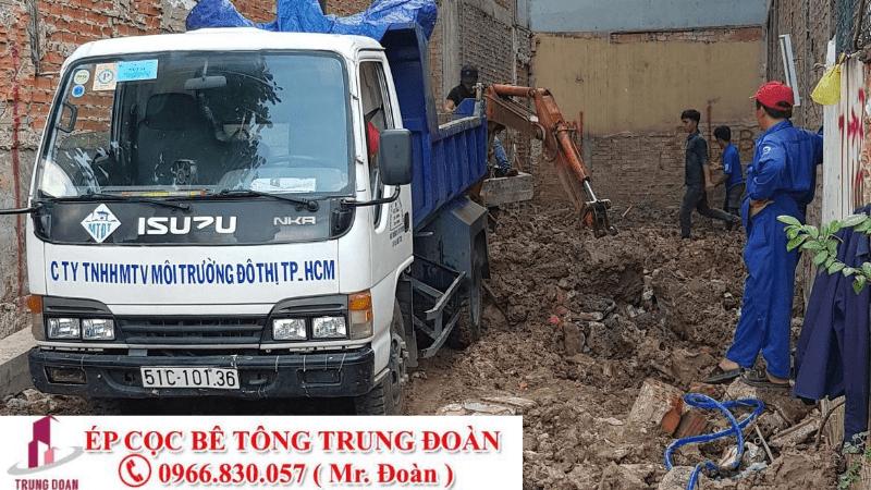 thi công ép cọc tại Bình Thuận