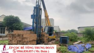 ép cọc bê tông tại thành phố Long Khánh tỉnh Đồng Nai