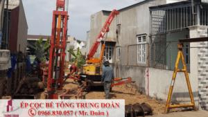 ép cọc bê tông Nhơn Trạch Đồng Nai