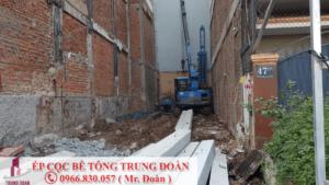 ép cọc bê tông xã Phú Tân huyện Định Quán