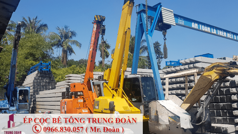 ép cọc bê tông tại tỉnh Lâm Đồng
