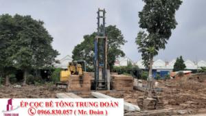 ép cọc bê tông tại tỉnh Tây Ninh