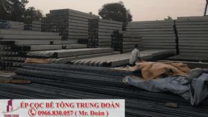 ép cọc bê tông tại huyện Cẩm Mỹ Đồng Nai