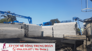 ép cọc bê tông phường Tân Thuận Đông quận 7