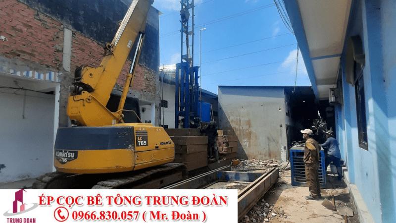 Ép cọc bê tông phường Tân Phước Khánh thị xã Tân uyên