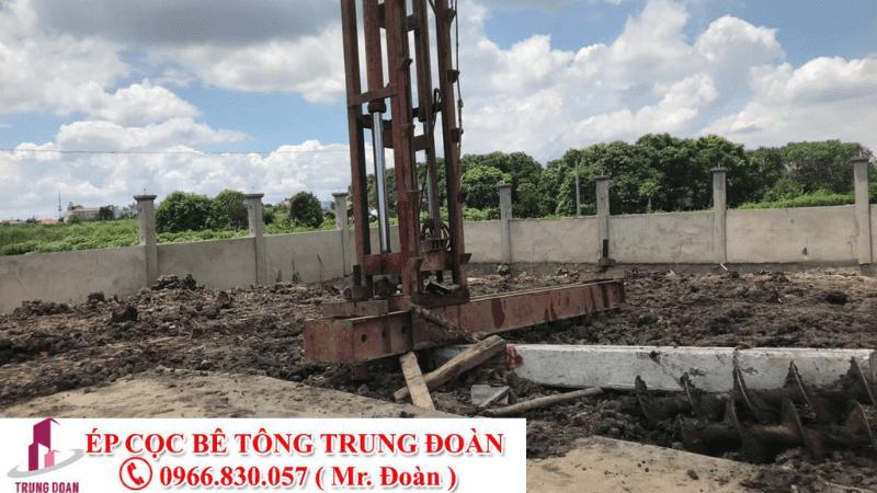 Ép cọc bê tông phường An Phú, Thuận An