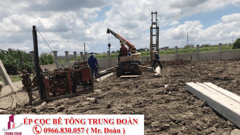 Ép cọc bê tông tại Phước Long tỉnh Bình Phước