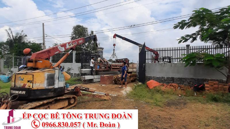 ép cọc bê tông xã Phúc Lộc Nhà Bè