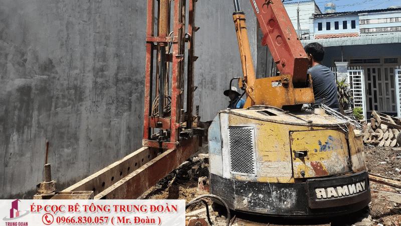 ép cọc bê tông phường Bình Chiểu quận Thủ Đức