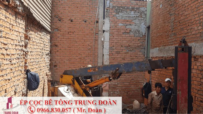 Ép cọc bê tông thị trấn Dầu Tiếng huyện Dầu Tiếng