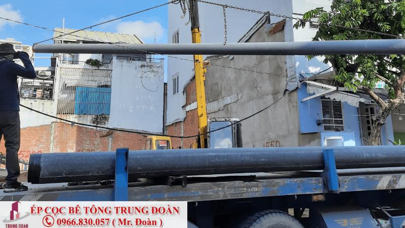 Ép cọc bê tông phường Hiệp Bình Chánh quận Thủ Đức