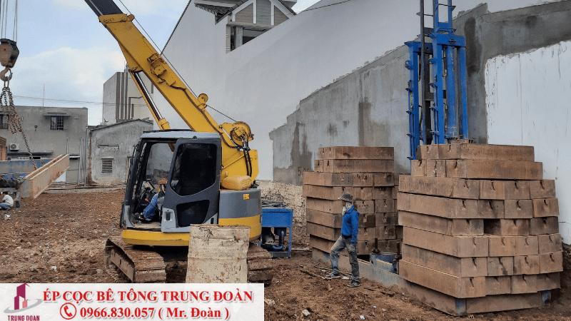 ép cọc bê tông phường 1 quận Tân Bình