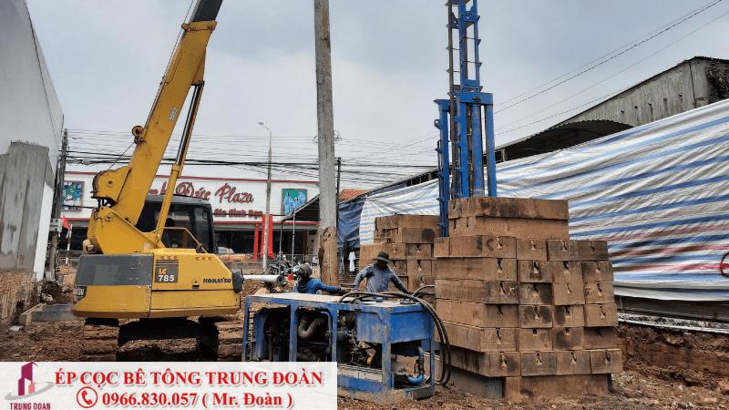 Ép cọc bê tông phường 3 quận Tân Bình
