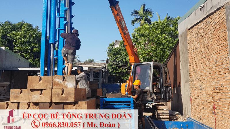 ép cọc bê tông phường Phú Thạnh quận Tân Phú