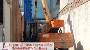 ép cọc bê tông xã Nhà Bè huyện Nhà Bè