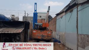 Ép cọc bê tông xã Phước Sang huyện Phú Giáo