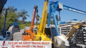 Ép cọc bê tông phường Đông Hòa, Dĩ An