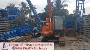 ép cọc bê tông xã Phong Phú huyện Bình Chánh