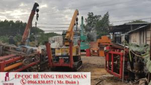 ép cọc bê tông phường 11 quận Bình Thạnh