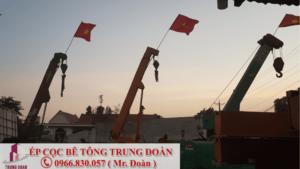 Ép cọc bê tông phường Linh Trung quận Thủ Đức