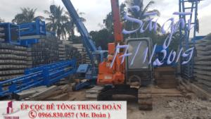 ép cọc bê tông phường 7 quận Tân Bình