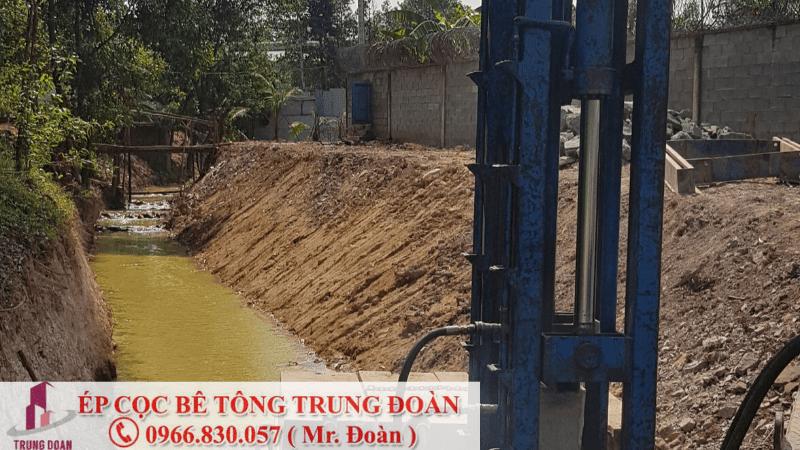 ép cọc bê tông phường 1 quận Phú Nhuận