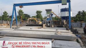 Ép cọc bê tông phường Trung Tránh huyện Hóc Môn