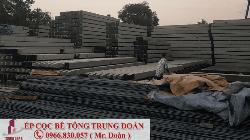 ép cọc bê tông xã Hiệp Phước huyện Nhà Bè