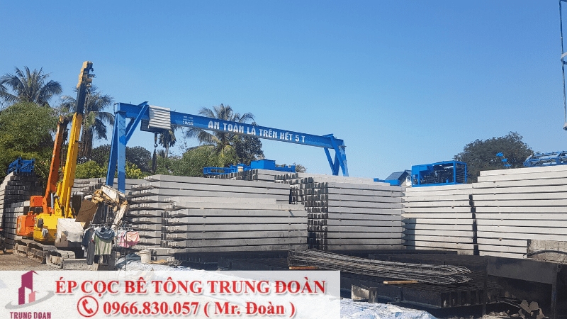ép cọc bê tông xã An Phú huyện Củ Chi