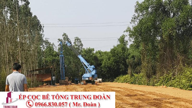 ép cọc bê tông phường Tân Sơn Nhì quận Tân pHÚ